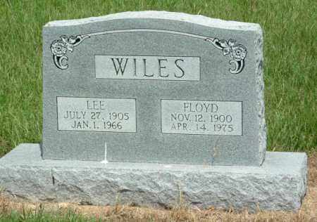 WILES, JOHN FLOYD - Izard County, Arkansas | JOHN FLOYD WILES - Arkansas Gravestone Photos