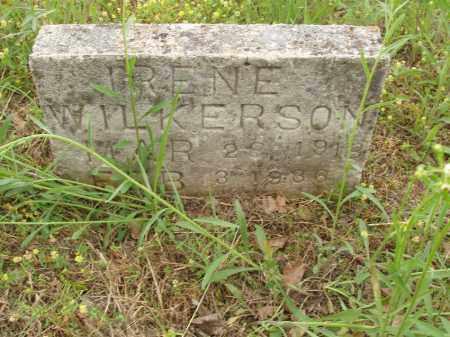 WILKERSON, IRENE - Izard County, Arkansas | IRENE WILKERSON - Arkansas Gravestone Photos