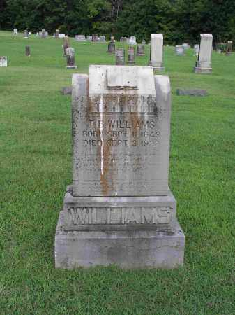 WILLIAMS, THOMAS BETHEL - Izard County, Arkansas | THOMAS BETHEL WILLIAMS - Arkansas Gravestone Photos