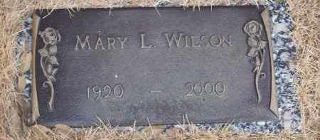 WILSON, MARY L - Izard County, Arkansas | MARY L WILSON - Arkansas Gravestone Photos