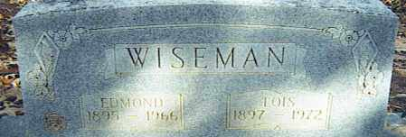 WISEMAN, EDMOND - Izard County, Arkansas | EDMOND WISEMAN - Arkansas Gravestone Photos