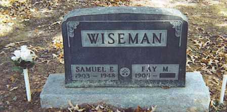 WISEMAN, SAMUEL E. - Izard County, Arkansas | SAMUEL E. WISEMAN - Arkansas Gravestone Photos