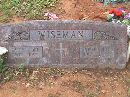 WISEMAN, ROBERT LEE - Izard County, Arkansas | ROBERT LEE WISEMAN - Arkansas Gravestone Photos