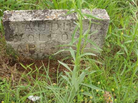 WOLFORD, MAUDIE W - Izard County, Arkansas | MAUDIE W WOLFORD - Arkansas Gravestone Photos