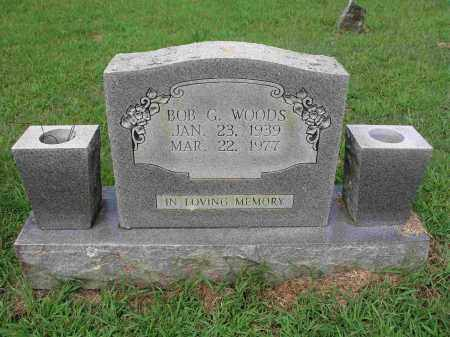 WOODS, BOB G. - Izard County, Arkansas | BOB G. WOODS - Arkansas Gravestone Photos