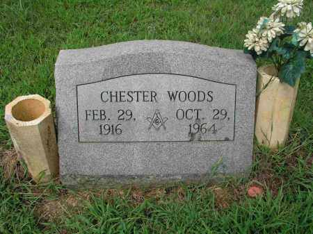 WOODS, CHESTER - Izard County, Arkansas | CHESTER WOODS - Arkansas Gravestone Photos