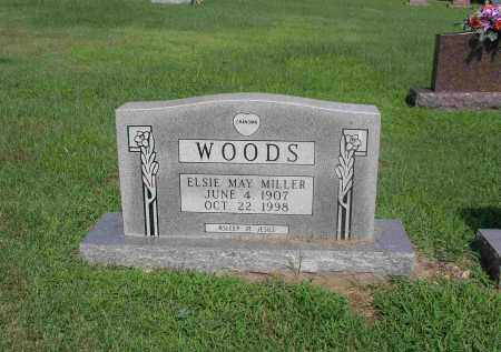 WOODS, ELSIE MAY - Izard County, Arkansas | ELSIE MAY WOODS - Arkansas Gravestone Photos