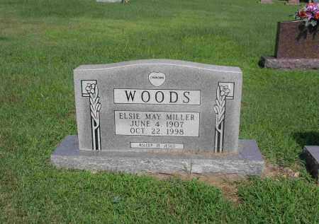 MILLER WOODS, ELSIE MAY - Izard County, Arkansas | ELSIE MAY MILLER WOODS - Arkansas Gravestone Photos