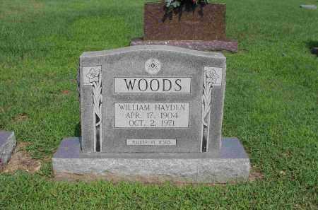 WOODS, WILLIAM HAYDEN - Izard County, Arkansas | WILLIAM HAYDEN WOODS - Arkansas Gravestone Photos
