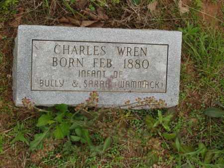 WREN, CHARLES - Izard County, Arkansas | CHARLES WREN - Arkansas Gravestone Photos