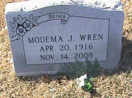 WREN, MODEMA J. - Izard County, Arkansas | MODEMA J. WREN - Arkansas Gravestone Photos