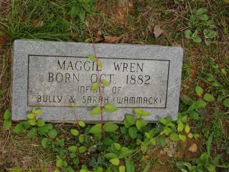 WREN, MAGGIE - Izard County, Arkansas | MAGGIE WREN - Arkansas Gravestone Photos