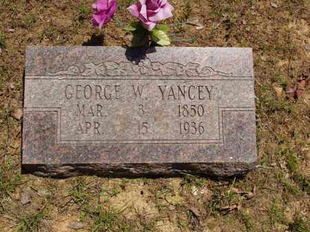 YANCEY, GEORGE W - Izard County, Arkansas | GEORGE W YANCEY - Arkansas Gravestone Photos
