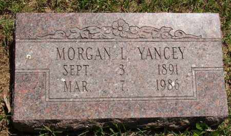 YANCEY, MORGAN L - Izard County, Arkansas | MORGAN L YANCEY - Arkansas Gravestone Photos
