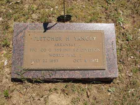 YANCEY  (VETERAN WWI), FLETCHER H - Izard County, Arkansas | FLETCHER H YANCEY  (VETERAN WWI) - Arkansas Gravestone Photos