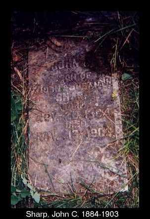 SHARP, JOHN C. - Izard County, Arkansas | JOHN C. SHARP - Arkansas Gravestone Photos