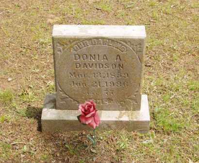 "MEERS DAVIDSON, DORCAS CALDONIA A ""DONIA"" - Izard County, Arkansas | DORCAS CALDONIA A ""DONIA"" MEERS DAVIDSON - Arkansas Gravestone Photos"