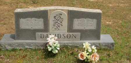 "DAVIDSON, SHULA JANE ""JENNIE"" - Izard County, Arkansas 
