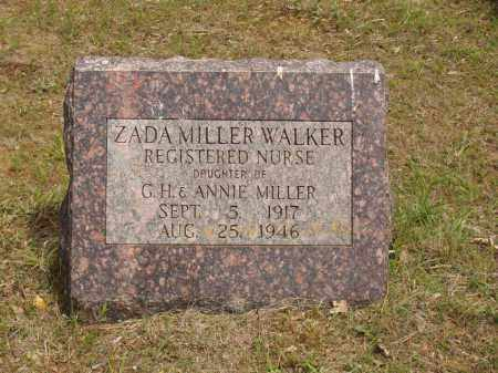 MILLER WALKER, ZADA - Izard County, Arkansas | ZADA MILLER WALKER - Arkansas Gravestone Photos