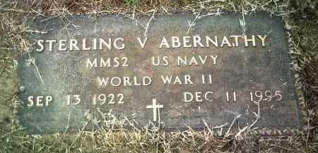 ABERNATHY (VETERAN WWII), STERLING V - Jackson County, Arkansas | STERLING V ABERNATHY (VETERAN WWII) - Arkansas Gravestone Photos