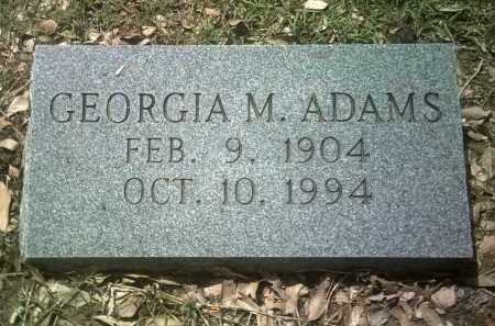 ADAMS, GEORGIA M - Jackson County, Arkansas | GEORGIA M ADAMS - Arkansas Gravestone Photos