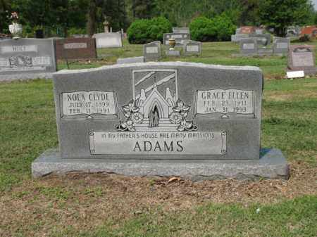ADAMS, NOLA CLYDE - Jackson County, Arkansas | NOLA CLYDE ADAMS - Arkansas Gravestone Photos