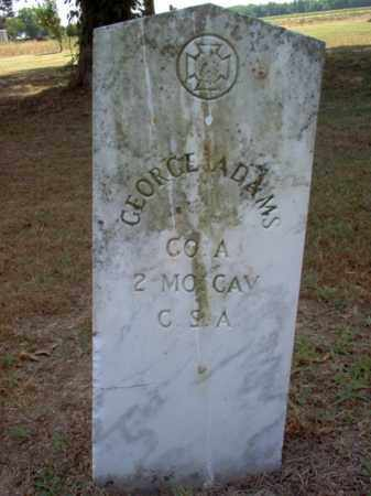 ADAMS (VETERAN CSA), GEORGE - Jackson County, Arkansas | GEORGE ADAMS (VETERAN CSA) - Arkansas Gravestone Photos