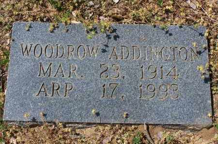 ADDINGTON, WOODROW - Jackson County, Arkansas | WOODROW ADDINGTON - Arkansas Gravestone Photos