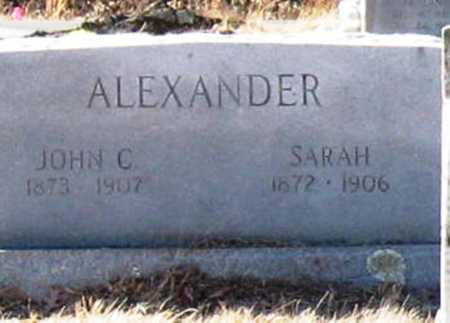 ALEXANDER, SARAH - Jackson County, Arkansas | SARAH ALEXANDER - Arkansas Gravestone Photos