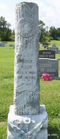 ALLEN, HOMER - Jackson County, Arkansas | HOMER ALLEN - Arkansas Gravestone Photos