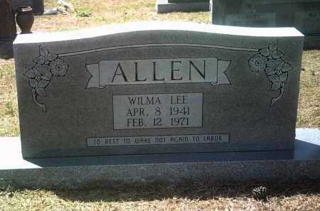 ALLEN, WILMA LEE - Jackson County, Arkansas | WILMA LEE ALLEN - Arkansas Gravestone Photos