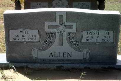 ALLEN, WILL - Jackson County, Arkansas | WILL ALLEN - Arkansas Gravestone Photos