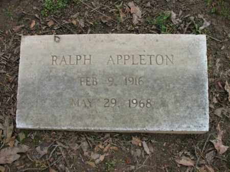 APPLETON, RALPH - Jackson County, Arkansas | RALPH APPLETON - Arkansas Gravestone Photos