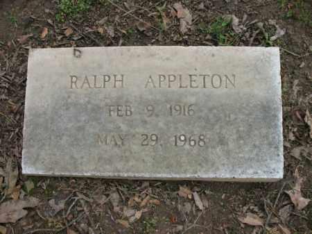 APPLETON, RALPH - Jackson County, Arkansas | RALPH APPLETON - Arkansas Gravestone Photos