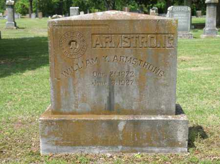 ARMSTRONG, WILLIAM Y - Jackson County, Arkansas | WILLIAM Y ARMSTRONG - Arkansas Gravestone Photos