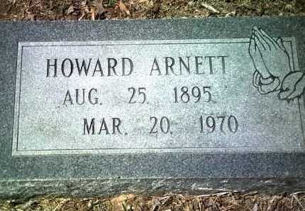 ARNETT, HOWARD - Jackson County, Arkansas | HOWARD ARNETT - Arkansas Gravestone Photos