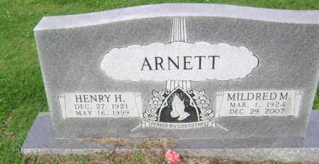 ARNETT, MILDRED M - Jackson County, Arkansas | MILDRED M ARNETT - Arkansas Gravestone Photos