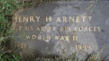 ARNETT (VETERAN WWII), HENRY H - Jackson County, Arkansas | HENRY H ARNETT (VETERAN WWII) - Arkansas Gravestone Photos