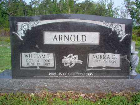 ARNOLD, WILLIAM THOMAS - Jackson County, Arkansas | WILLIAM THOMAS ARNOLD - Arkansas Gravestone Photos