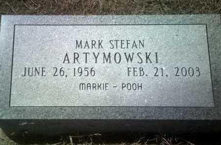 "ARTYMOWSKI, MARK STEFAN ""MARKIE-POOH"" - Jackson County, Arkansas | MARK STEFAN ""MARKIE-POOH"" ARTYMOWSKI - Arkansas Gravestone Photos"