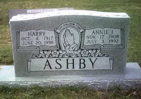 ASHBY, HARRY - Jackson County, Arkansas | HARRY ASHBY - Arkansas Gravestone Photos