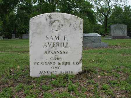AVERILL (VETERAN), SAM FRANKLIN - Jackson County, Arkansas | SAM FRANKLIN AVERILL (VETERAN) - Arkansas Gravestone Photos