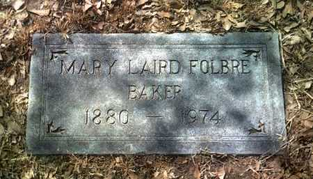 LAIRD FOLBRE, MARY - Jackson County, Arkansas | MARY LAIRD FOLBRE - Arkansas Gravestone Photos
