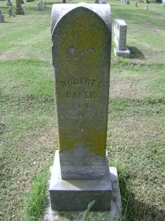 BAKER (VETERAN CSA), ROBERT L - Jackson County, Arkansas   ROBERT L BAKER (VETERAN CSA) - Arkansas Gravestone Photos
