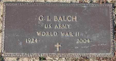 BALCH (VETERAN WWII), G L - Jackson County, Arkansas | G L BALCH (VETERAN WWII) - Arkansas Gravestone Photos