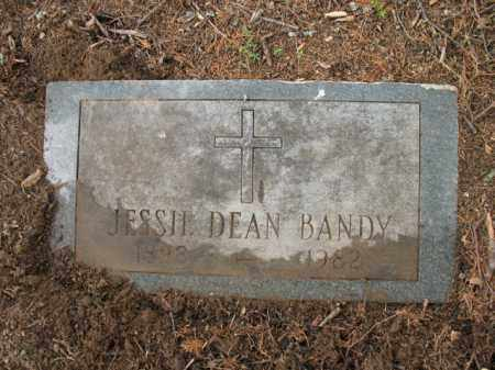 DEAN BANDY, JESSIE - Jackson County, Arkansas | JESSIE DEAN BANDY - Arkansas Gravestone Photos