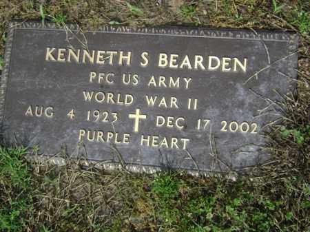 BEARDEN (VETERAN WWII), KENNETH S - Jackson County, Arkansas | KENNETH S BEARDEN (VETERAN WWII) - Arkansas Gravestone Photos
