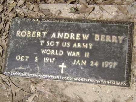 BERRY (VETERAN WWII), ROBERT ANDREW - Jackson County, Arkansas | ROBERT ANDREW BERRY (VETERAN WWII) - Arkansas Gravestone Photos