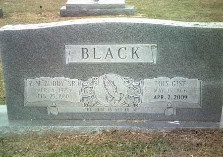 GIST BLACK, LOIS - Jackson County, Arkansas | LOIS GIST BLACK - Arkansas Gravestone Photos