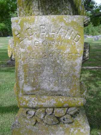 BLAND, E D - Jackson County, Arkansas   E D BLAND - Arkansas Gravestone Photos